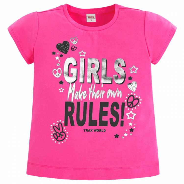 d02495c55ff Σετ μπλούζα και κολάν κορίτσι με τύπωμα Girls TRAX