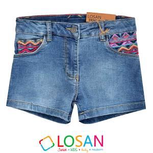 Παντελόνι κοντό τζιν κορίτσι Losan