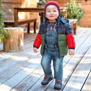 Σαλοπέτα μακριά τζιν για baby αγόρι Mayoral