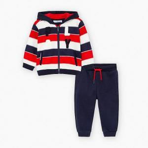 Φόρμα φούτερ με ζακέτα για baby αγόρι Mayoral