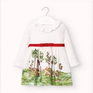Φόρεμα φούτερ για κορίτσι βρεφικό Mayoral