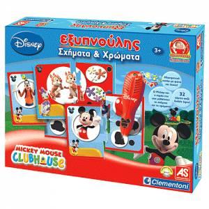 Εξυπνούλης Χρώματα Και Σχήματα Mickey