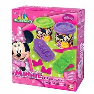 Σετ πλαστελίνη με Καλουπάκια Minnie