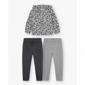 Φόρμα φούτερ με δύο παντελόνια για κορίτσι Mayoral