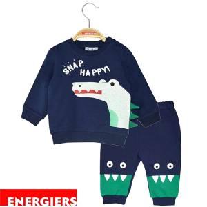 Φόρμα φούτερ αγορίστικη με τύπωμα Snap Energiers