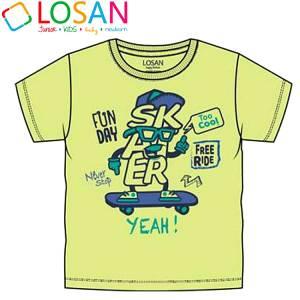 Μπλούζα με κοντό μανίκι για αγόρι σταμπωτό free Losan