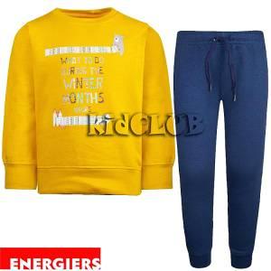 Φόρμα φούτερ αγορίστικη με τύπωμα Months Energiers