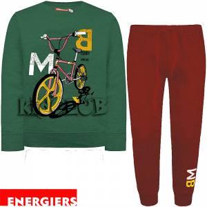 Φόρμα φούτερ αγορίστικη με στάμπα BMX Energiers