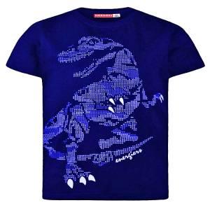Μπλούζα με κοντό μανίκι για αγόρι σταμπωτό δεινόσαυρος Energiers