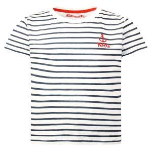 Μπλούζα με κοντό μανίκι για αγόρι σταμπωτό navy Energiers