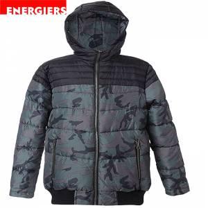 Τζάκετ Army Με Επένδυση Fleece Εσωτερικά Energiers