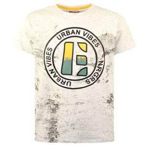 Μπλούζα με κοντό μανίκι για αγόρι σταμπωτό Energiers