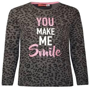Μπλούζα μακρυμάνικη κοριτσίστικη με τύπωμα Smile Energiers