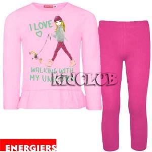 Σετ μπλούζα και κολάν κορίτσι με τύπωμα Unicorn Energiers
