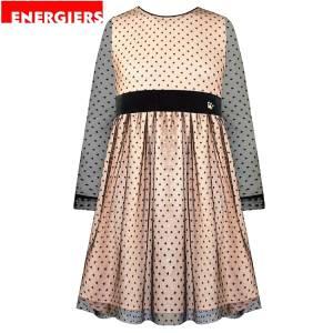 Φόρεμα μακρυμάνικο κοριτσίστικο με τούλι Energiers