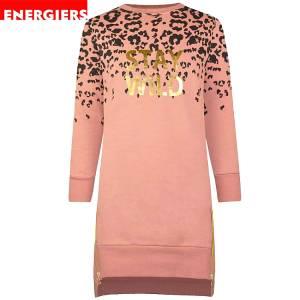 Φόρεμα κοριτσίστικο φούτερ με στάμπα Stay wild Energiers