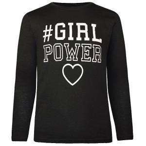 Μπλούζα μακρυμάνικη κοριτσίστικη με τύπωμα Girl Energiers