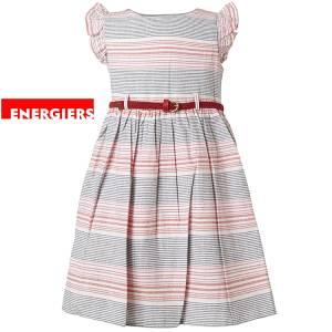 Φόρεμα σταμπωτό ριγέ κορίτσι Energiers