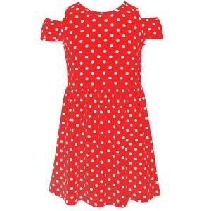 Φόρεμα σταμπωτό πουά κορίτσι Energiers