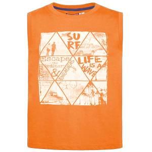 Μπλούζα αμάνικη για αγόρι σταμπωτό Life Energiers