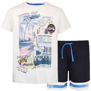Σετ μπλούζα με κοντό παντελόνι αγόρι σταμπωτό Sunrise Energiers