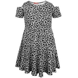 Φόρεμα σταμπωτό εμπριμέ κορίτσι Energiers