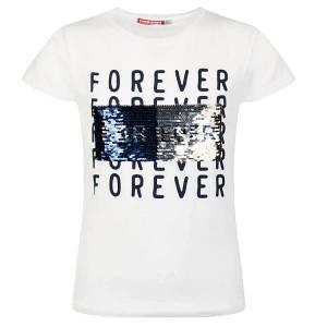 Μπλούζα κοντομάνικη κορίτσι σταμπωτό forever της Energiers