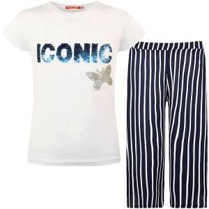 Σετ μπλούζα και παντελόνι κορίτσι σταμπωτό Energiers