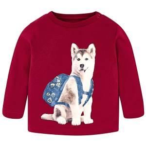 Μπλούζα μακρυμάνικη Σκύλος για baby αγόρι Mayoral