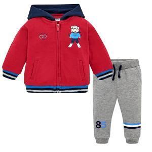 Φόρμα φούτερ και παντελόνι για baby αγόρι Σκι Mayoral