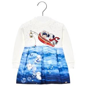 Φόρεμα φώκιες για μωρό κορίτσι MAYORAL