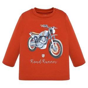 Μπλούζα μακρυμάνικη Road Runner για baby αγόρι Mayoral