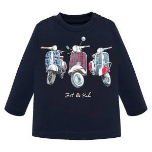 Μπλούζα μακρυμάνικη Just Ride για baby αγόρι Mayoral