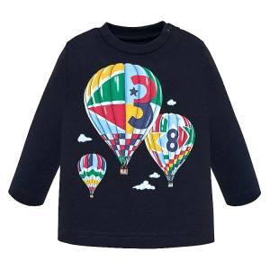 Μπλούζα μακρυμάνικη Μπαλόνια για baby αγόρι Mayoral
