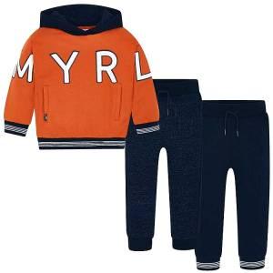 Φόρμα φούτερ με δύο παντελόνια για αγόρι Mayoral