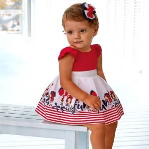 Φόρεμα βρεφικό κορίτσι Style MAYORAL