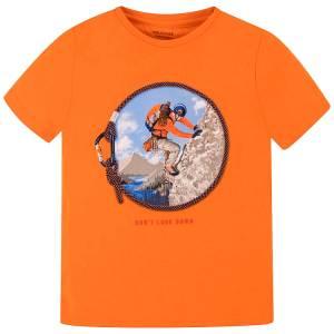 Μπλούζα κοντομάνικη αγόρι ορειβάτης Mayoral nukutavake