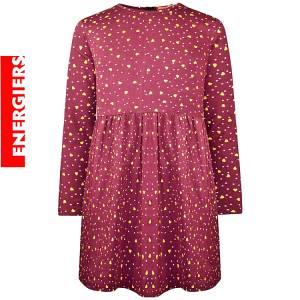 Φόρεμα κοριτσίστικο φούτερ με στάμπα εμπριμέ Energiers