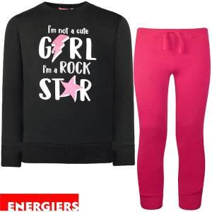 Φόρμα για κορίτσι με στάμπα Star Energiers