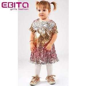 Φόρεμα κοριτσίστικο με πούλιες Ebita Fashion