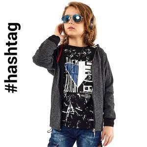 Μπλούζα μακρυμάνικη αγορίστικη με τύπωμα Endurance Hashtag