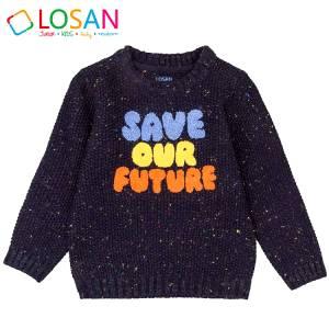 Πλεκτό πουλόβερ για αγόρι Losan