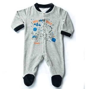 Φορμάκι βρεφικό για baby αγόρι ύφασμα βελούδο Need Dreams