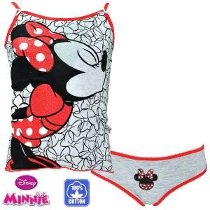 Εσώρουχο μπλούζα και βρακάκι Disney Minnie
