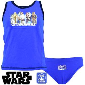 Εσώρουχο μπλούζα και βρακάκι Disney Star Wars