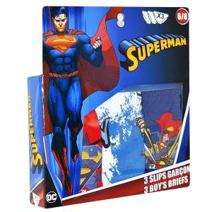 Σλιπάκια 3 τεμάχια Superman