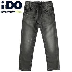 Παντελόνι μακρύ τζιν με λάστιχο Regular fit για αγόρι IDO