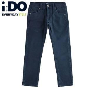 Παντελόνι μακρύ σε στενή γραμμή αγορίστικο IDO