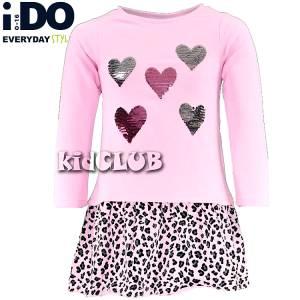 Φόρεμα κοριτσίστικο με πούλιες IDO