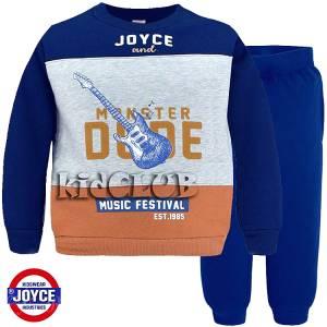 Φόρμα φούτερ αγορίστικη με στάμπα Music Joyce